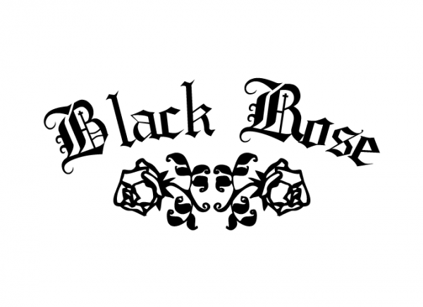 Black Rose Premade Logo