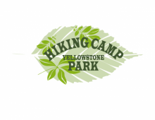 Hiking Camp Premade Logo