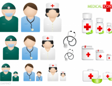 Medical People Vector Icons