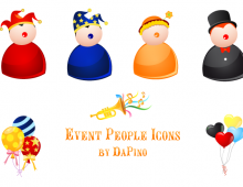 Event People Vector Icons