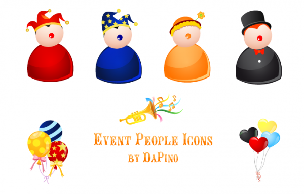 Event People Vista Icons