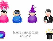 Magic People Vector Icons