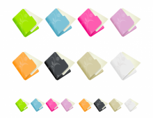 Flowered Folder Icon Set
