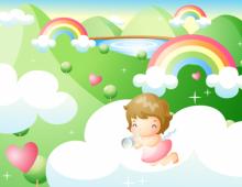 Angel Landscape