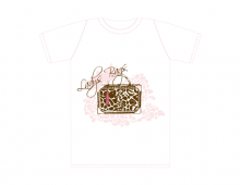 Lady Bags T-shirt Design