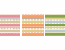 Vector Stripes Patterns