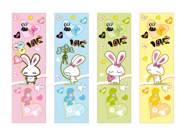 Love Rabbits Banner