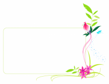 Floral Banner with Cockatoo