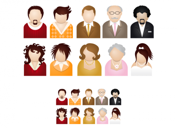 10 People Couple Icons