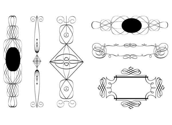 Art Deco Design Elements I