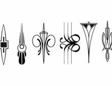 Art Deco Design Elements III