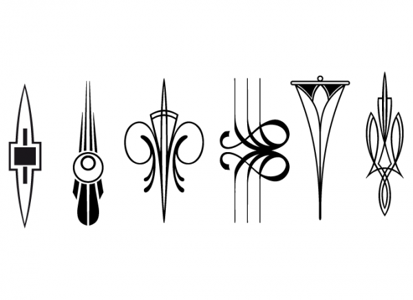 Art Deco Design Elements III