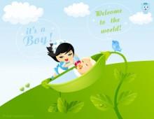 Boy Baby Born