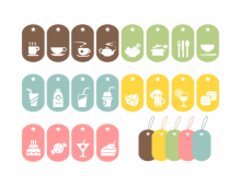 Food Vector Symbols