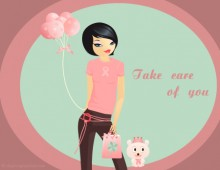 Pink Ribbon Awareness E-Card