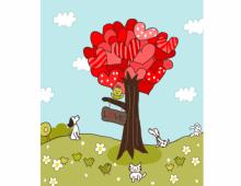 Cute Valentine Illustration