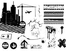 Urban City Elements