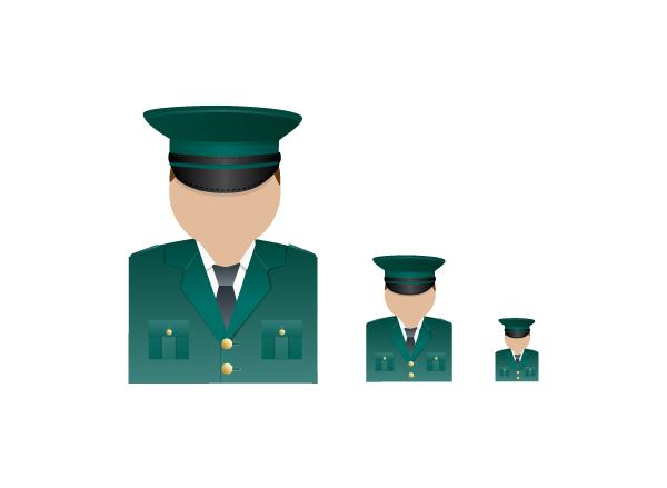 PSNI officer icon