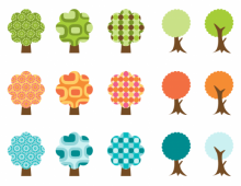 Retro Trees