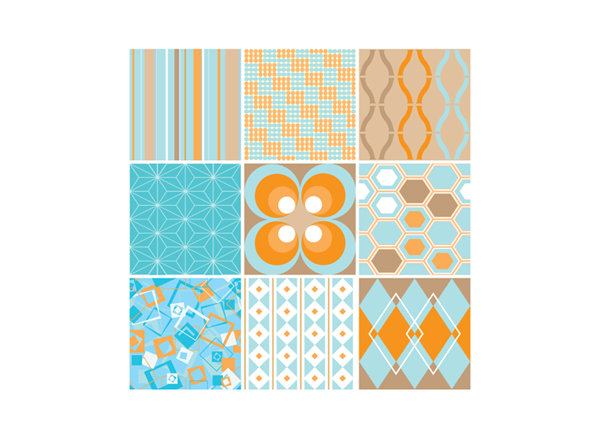 Funky Seamless Patterns
