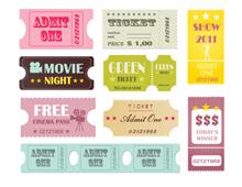 Retro Tickets