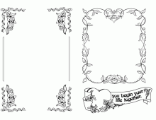 Wedding Vintage Frames