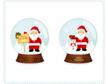Santa Christmas Snowballs