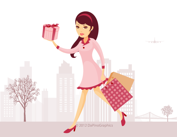 City Shopping Girl