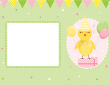 Party! Chicken card