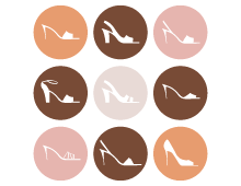 Female Shoes Icons