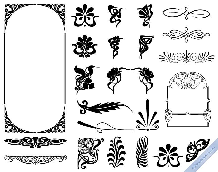 Art Nouveau Design Movement Art Nouveau Design Elements