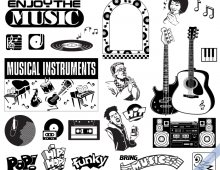 Retro Pop Music Elements