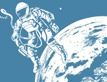Space & Astronauts Illustrations
