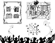 Vintage Party! Elements