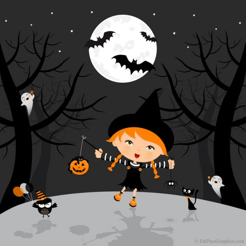 Halloween iPod/iPhone/iPad Wallpaper