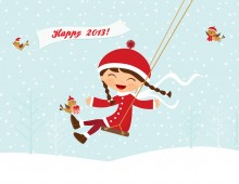 Happy 2013! Wallpaper