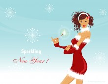 Sparkling New Year eCard!