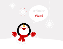 Winterfun! iPhone & iPad Wallpaper