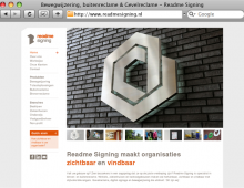 ReadMe Signing – design 2012