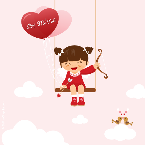 Cute Cupid Girl