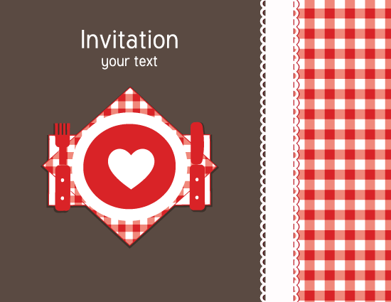 Dinner Invitation Card